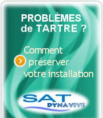 Les systèmes Anti-Calcaire SAT-Dynavive