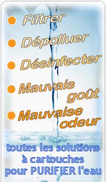 Toute la gamme FILTRATION et PURIFICATION de l'eau proposée par Dynavive