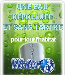 Le combiné Dépollution + Anti-Calcaire WATER'O proposé par Dynavive
