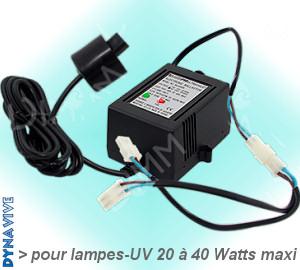 Voir la Fiche Produit Réf-UV-2040BA-1224